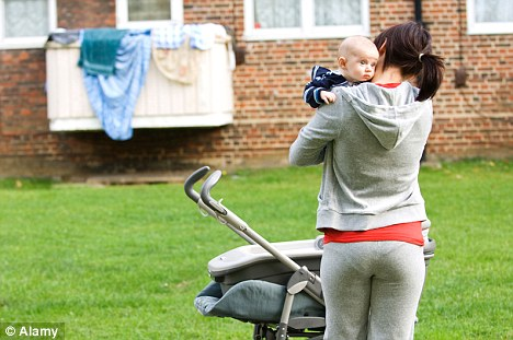 Single parent families in the UK have risen from 1.7 million to 1.9 million from 2001-2011