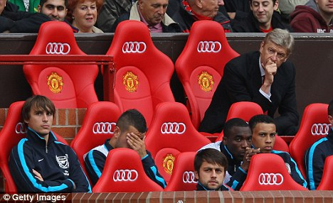 Out for revenge? Arsenal face United for the first time since their 8-2 drubbing