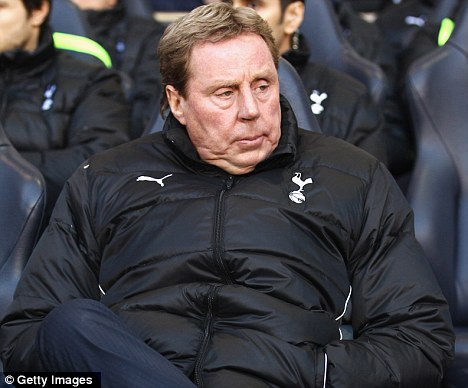 Eyes on the prize: Redknapp says City should win the title given the money they've spent