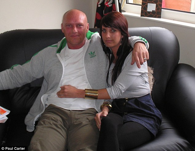 Ultimate betrayal: Emma and Darren, both from Blackburn, Lancashire, now plan to move in together