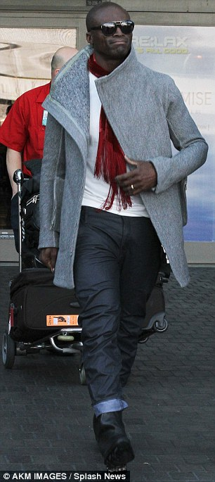 Seal arriving at LAX yesterday