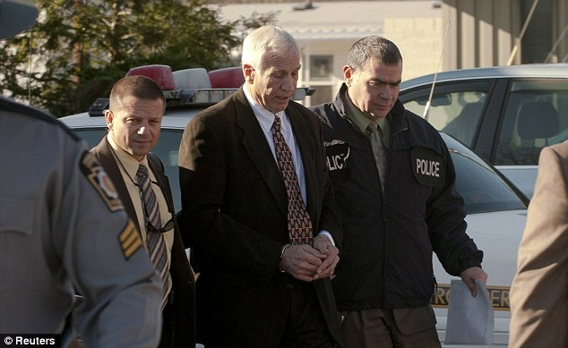 Sex scandal: Former Penn State University assistant football coach Jerry Sandusky's arrest led to the firing of Paterno