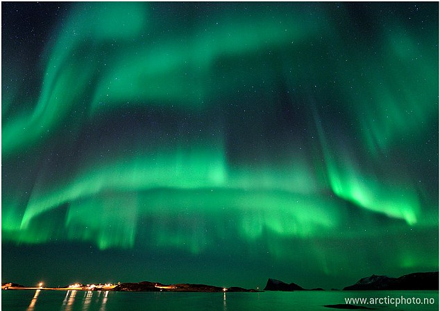 Canada and Norway have seen some of the most spectacular activity this week