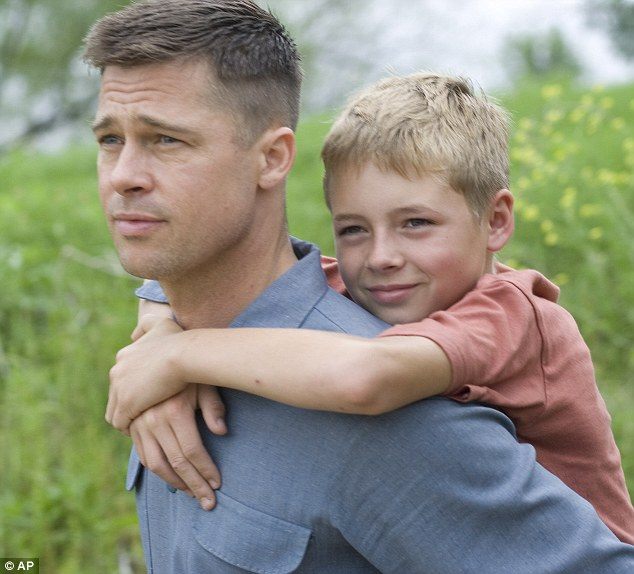 Here's Brad again! Pitt also stars in The Tree of Life which is also up for Best Picture