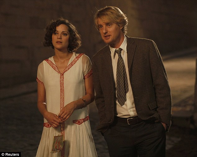 Popular city: The French capital is the setting for another Best Picture nominee, Midnight in Paris
