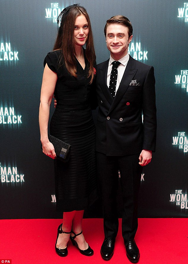 Leading man: Daniel Radcliffe joined his co-star Liz White at the Royal Festival Hall