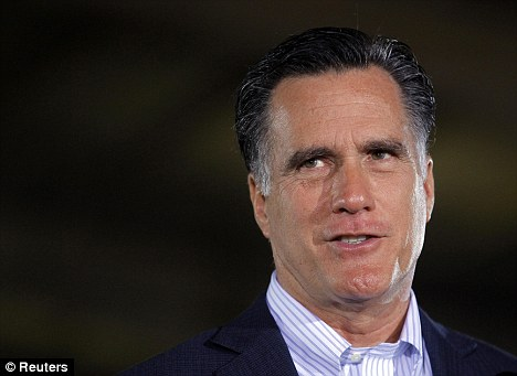 Attacked: Obama's two points against Romney will be his taxes and his religion