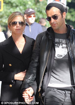 The perfect place to nest? Jennifer Aniston will be living in the property with her man Justin Theroux