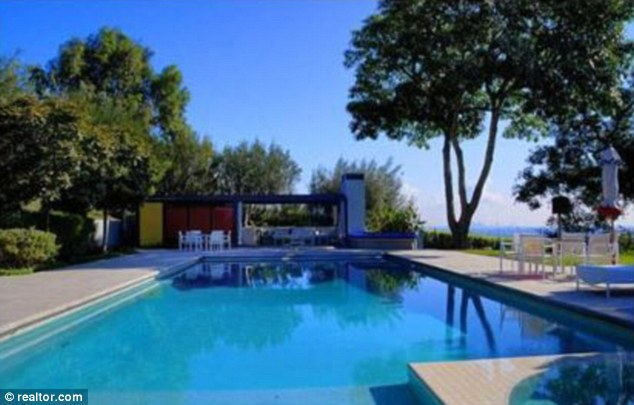 Lap of luxury:  The house features a swimmers' pool, a spa and a guest house