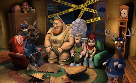 The two makers of Hoodwinked (pictured), a lucrative animation film, sued the Weinsteins for more than £73¿million, alleging the company botched five film projects.