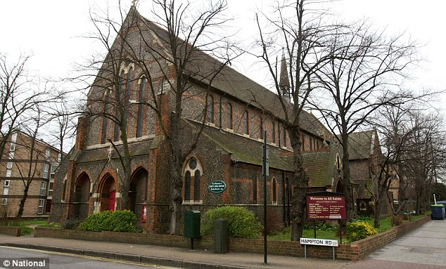 Wedding venue: All Saints Church in Forest Gate, east London, has been at the centre of the sham marriage investigation