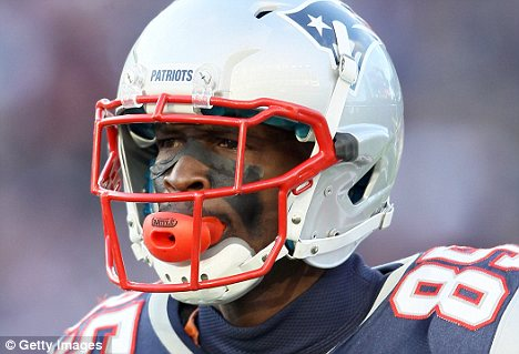 Big game: Chad Ochocinco and the New England Patriots will face off against the New York Giants in the Super Bowl on February 5