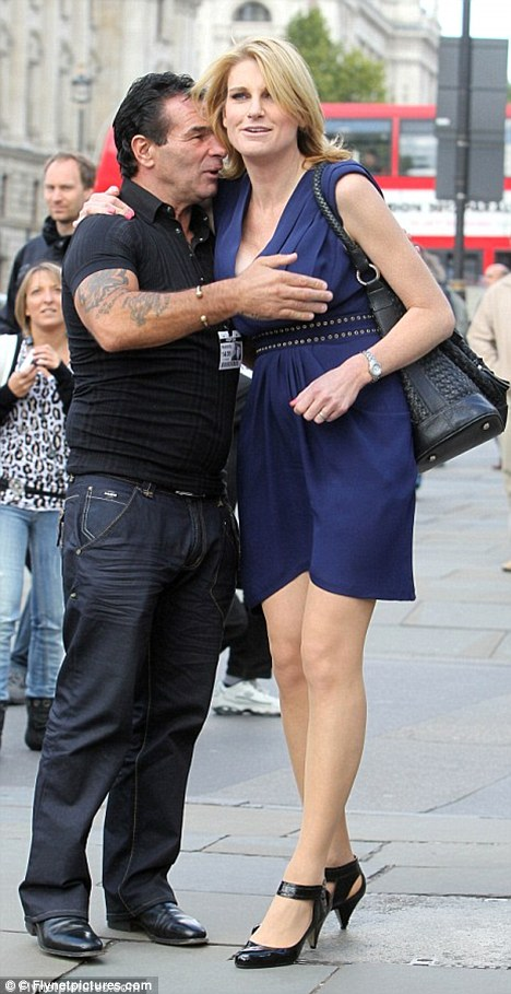 Reality star Doherty, pictured here with fellow Celebrity Big Brother star Sally Bercow, said he has been 'shunned' by the gypsy community over his celebrity status