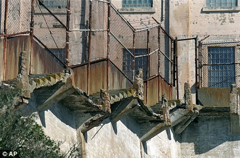 Escapes: The former federal prison was built in 1934 and saw 14 escape attempts with five at least successfully disappearing, though whether they survived to swim to shore is not known