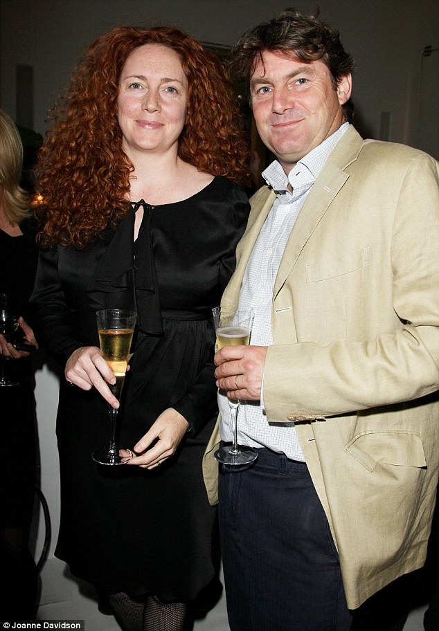 Happy couple: Mrs Brooks and her husband, former racehorse trainer Charlie Brooks, spent years trying to conceive naturally before deciding to use a surrogate