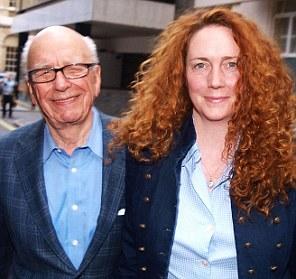 Brooks with Murdoch