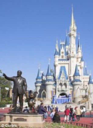 Suspicious: The family enjoyed a lavish lifestyle before mom and daughter fled to Disney World, arousing a co-worker's suspicions