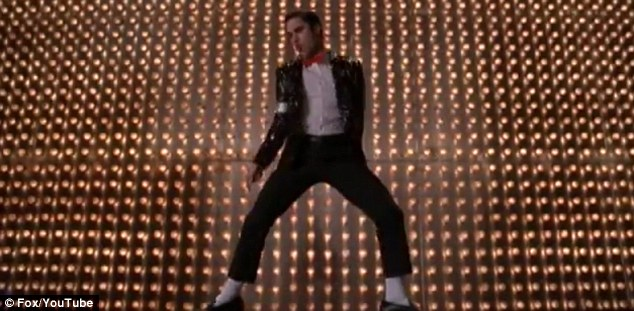 Don't Stop Til You Get Enough: Darren Criss channels Michael Jackson in next week's special tribute episode of Glee