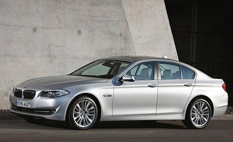 BMW 5 Series car