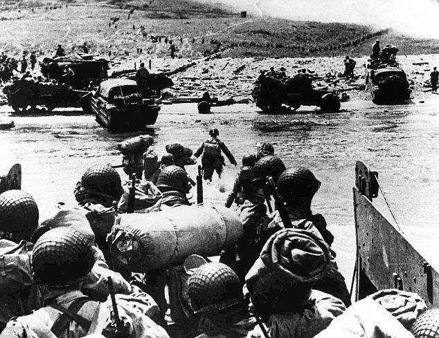 Risking their lives: The Irish troops helped support British and American troops at D-Day, Dunkirk and many other battlefields
