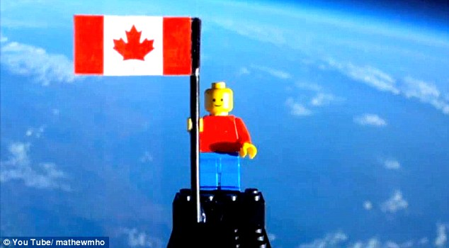 Having attached a GPS receiver to the styrofoam box carrying the cameras and Lego man, the teens were able to recover their Lego man which landed 122km from the launch site.