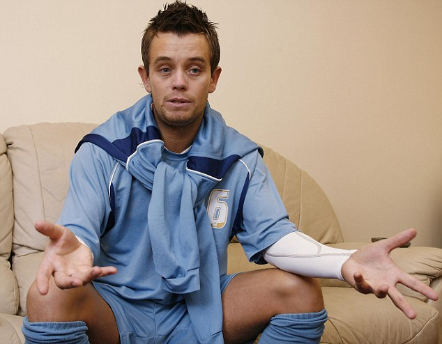 Bankrupt: Former Aston Villa star Lee Hendrie had debts of nearly £200,000 and was taken to court by HMRC