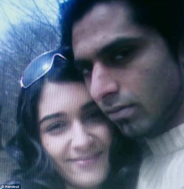 In love: Zainab married Pakistani-Canadian Ammar Wahid making her father furious