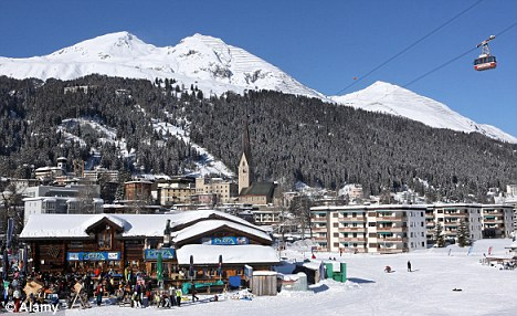 Swish and Swiss: Davos, the venue for the World Economic Forum