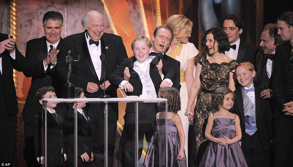 Boardwalk Empire: The case of the HBO series won the SAG for Outstanding Performance by an Ensemble in a Drama Series
