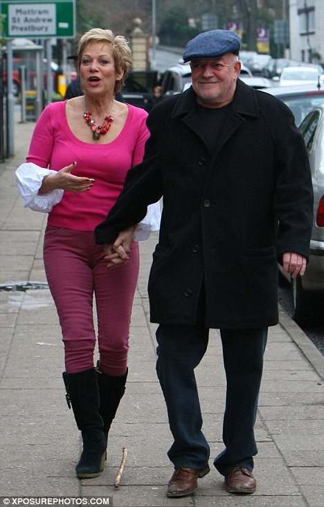 'Everything's fine at home': Denise and Tim Healy have been married for 23 years