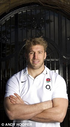 In at the deep end: Chris Robshaw