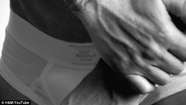 David Beckham Bodywear for H&M Super Bowl ad