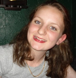 Horrifying: Katie Littlewood, 15, was tragically killed while apparently listening to her iPod