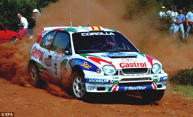 Sporting pedigree: Corollas won Toyota the World Rally Championship's manufacturers title in 1999
