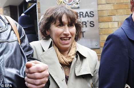 Ordeal: Janis Winehouse, Amy's mother, leaving St Pancras Coroner's Court last October