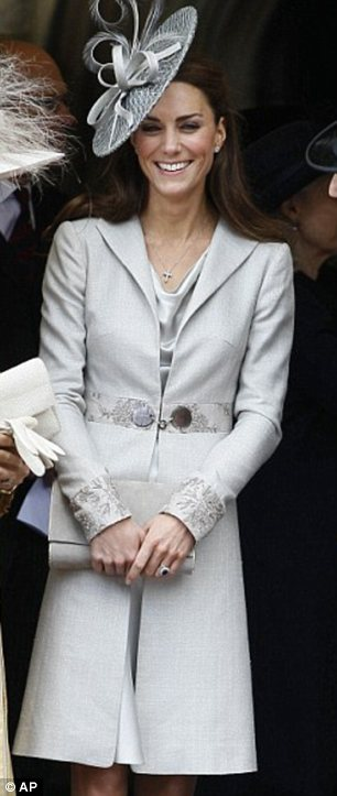 Kate Middleton Garter Day