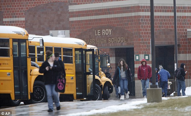 School scandal: Eighteen Le Roy High School students reported a mysterious outbreak of spasms and seizures