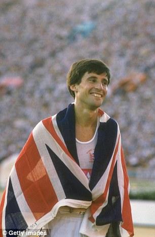 Rule Britannia: Coe retained his 1500m title in Los Angeles