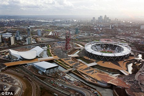Congestion: It is feared the London 2012 Olympics will cause not only transport disruption but also problems online