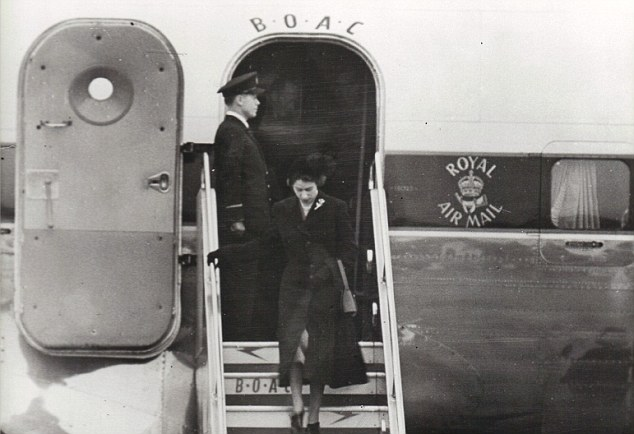 Prime Minister, Winston Churchill, political leaders and other high officers of State were there to meet the flight
