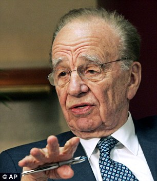 Under investigation: The FBI is probing possible criminal violations by Rupert Murdoch's staff