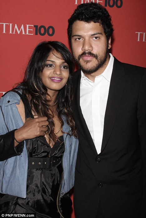 It's over: According to reports in the U.S. today, rapper M.I.A. has split from her fiancé Benjamin Bronfman