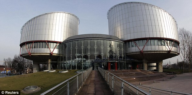 Considering their verdict: Judges at the European Court in Strasbourg are deciding whether sentences the extremists would face in the U.S. breach Article 3 of the European Convention on Human Rights