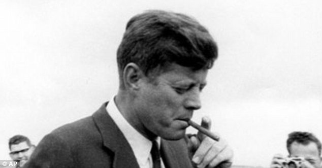 Order: President John F Kennedy asked an aide to buy him 1,000 Cuban cigars - the day before he authorised the U.S. trade embargo
