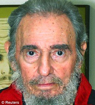 Former Cuban leader Fidel Castro