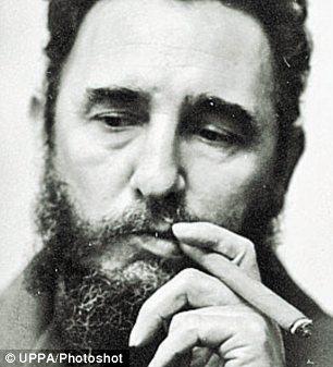Fidel Castro is seen in on October 01, 1976