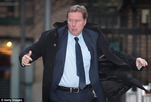 Decision day: Harry Redknapp arrives at Southwark Crown Court on Wednesday