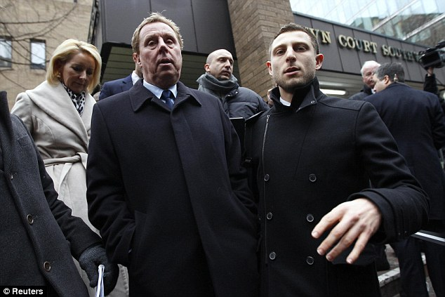 All over: Redknapp (left) leaves Southwark Crown Court after being cleared of all chargesAll over: Redknapp (left) leaves Southwark Crown Court after being cleared of all charges