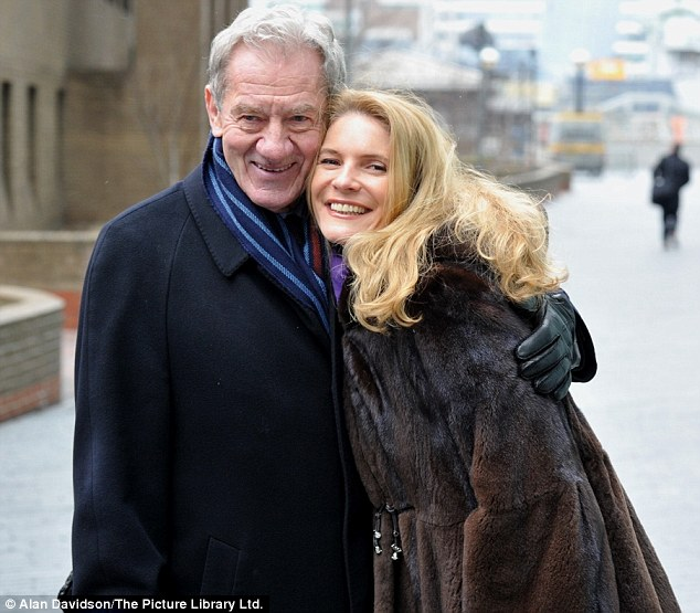 Relief: Milan Mandaric with his daughter Nina after the trial. The prosecution said Mandaric made an 'off-the-record' arrangement to compensate Redknapp for taking a smaller cut after a deal had gone through