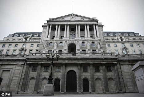 Gamble: The Bank of England is to increase its quantitative easing programme by £50billion